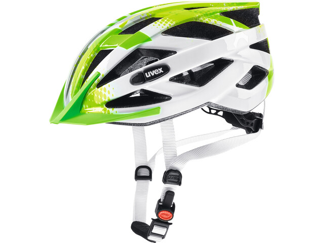 UVEX Air Wing Helmet Kinder lime-white
